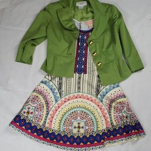 FLYING TOMATO Aztec boho mini dress size medium